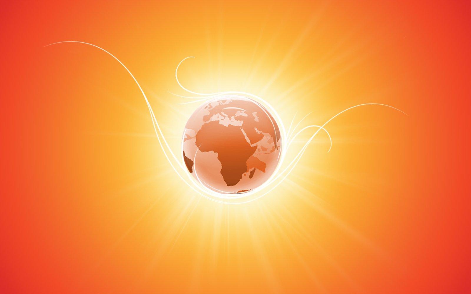 global warming art