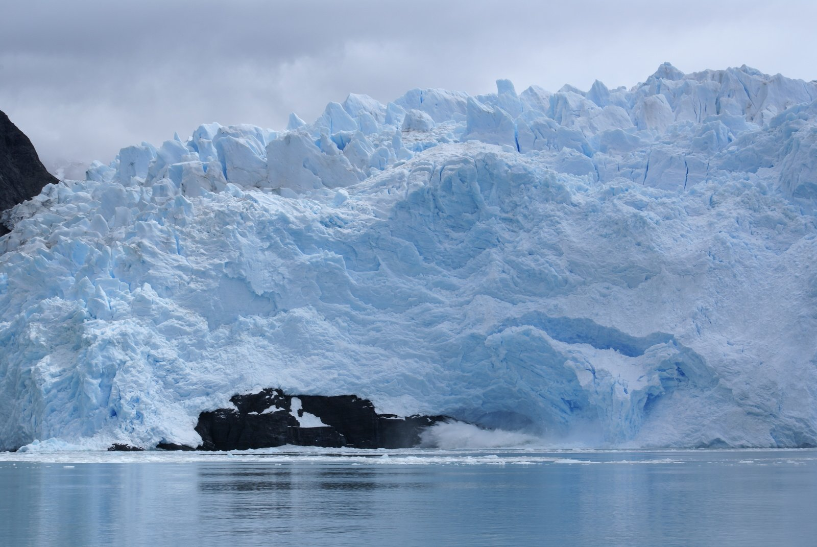 what is climate change glacier