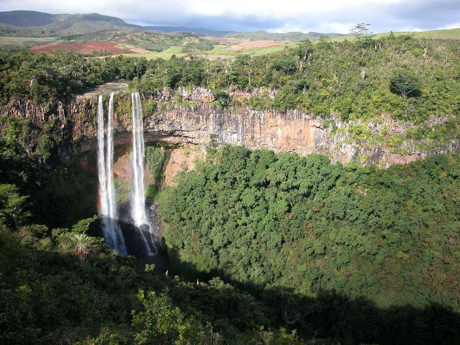 pictures of africa waterfalls
